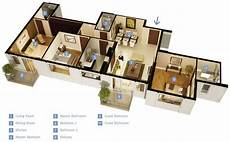 25 three bedroom houseapartment floor 50 three 3 bedroom apartment house plans simplicity