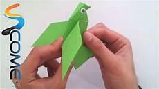 origami gabbiano creare un uccello di carta