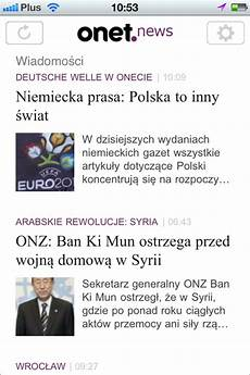 onet pl news na iphone