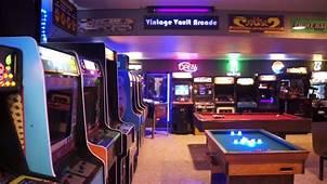 The Basement Arcade  Vintage Vault Tour 2017 YouTube