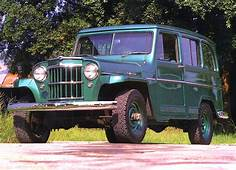 1962 Willys Jeep Utility Wagon  Station