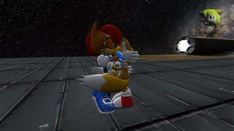 Sonic X Tails Crying