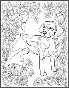 Ausmalbilder Hunde Beagle Hunde Ausmalbilder F 252 R Erwachsene Kostenlos Zum Ausdrucken