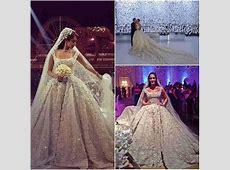 2015 High End Amazing Arabic Wedding Dresses Luxury