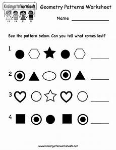patterns worksheets for nursery 181 kindergarten geometry patterns worksheet printable with images pattern worksheet pattern