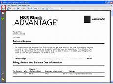 Hr Block Print Tax Return Price Comparison