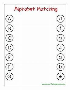letter matching printables preschool letters letter matching game letter matching