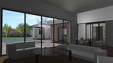 maison contemporaine en ossature bois 224 toit terrasse