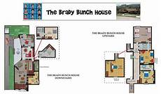 brady bunch house plans the real brady bunch house floor plan brady bunch floor