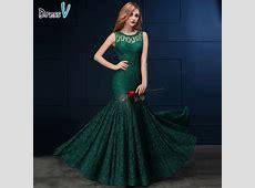 Online Get Cheap Dark Green Gown  Aliexpress.com   Alibaba