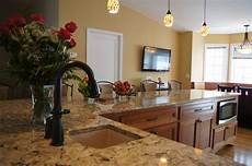 a color for a warm feel so welcoming here s a kitchen i designed with the color
