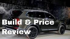 2020 kia telluride build and price 2020 kia telluride ex awd suv build price review