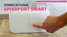 Speedport Smart Einrichten Telekom Router Anschlie 223 En