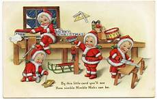 bytes vintage christmas cards