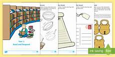 year 1 read and respond comprehension activity