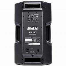 alto pa speaker alto truesonic ts215 15 quot active pa speaker at gear4music