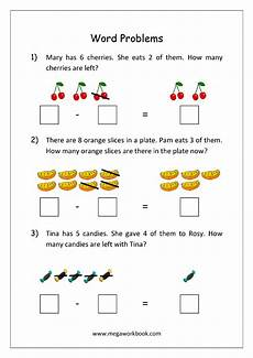 subtraction stories worksheets for kindergarten 10536 addition and subtraction word problems story problems with exles subtraction word