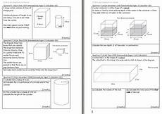 volume word problems worksheets with answers 11170 cylinders maths teaching