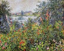 Flowers At Vetheuil 1881  Claude Monet WikiArtorg