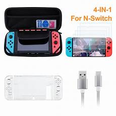 Accessories Shell Cover Charging Cable Protector by Nintendo Switch Accessories Accessories Starter Kit 4
