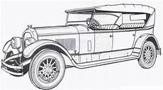 1924 marmon classic car coloring pages free