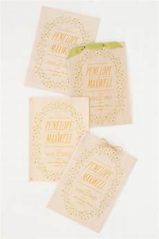diy print it yourself wood and vellum wedding invitations
