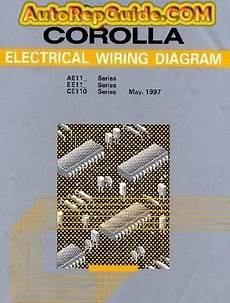 toyota corolla 1997 wiring diagrams for download