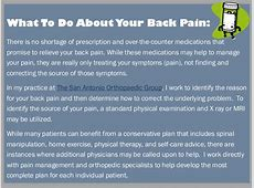 low back pain when standing