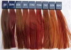 rote haarfarben palette wella professionals koleston vibrant reds hair