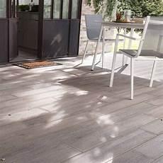 carrelage terrasse bois gris 16 x 100 cm sansio