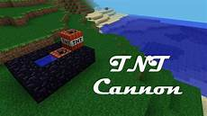How To Make A Tnt Cannon In Minecraft Pocket Edition