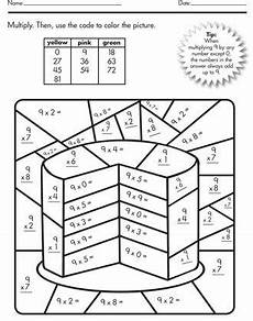 multiplication color by number printable worksheets free 16318 color by number multiplication best coloring pages for