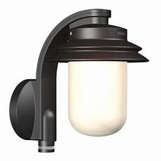 buy steinel l726 pir wall sensor light in black from our ground lights markers bulbs range
