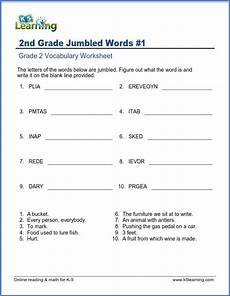 awesome word scramble for second graders and testimonial