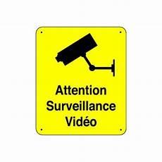 panneau attention surveillance panosur