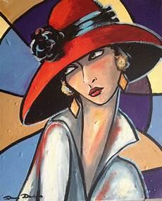 peinture femme moderne d 233 fi de septembre 233 es folles peinture d 233 co huile originale sur toile sur ch 226 ssis en