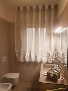 tendaggi per bagno tenda a finto pacchetto con tessuto a colori alternati per