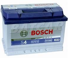 Bosch Silver S4 008 74 Ah 74ah 680a En Autobatterie