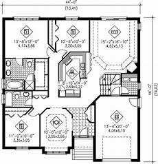 european style house plan 3 beds 2 baths 1600 sq ft plan
