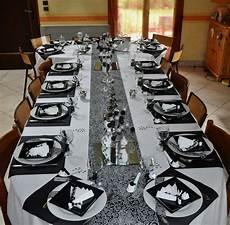 deco table argent table rabattable cuisine table noir et blanche