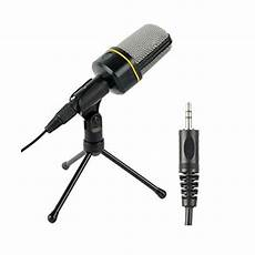Microphone Mini Wired Microphone With Tripod by Portable Studio Microphone Wired Condenser Microphone With