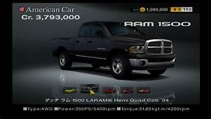 Ram 1500 LARAMIE Hemi Quad Cab 04  Gran Turismo Wiki