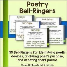 poetic devices worksheet grade 7 25432 poetry bell ringers bell ringers teaching poetry poetry