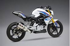 modification bmw g 310 gs yoshimura g310r g310gs 2018 19 r 77 stainless exhaust