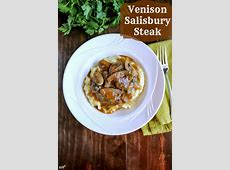 deer steaks and gravy  venison_image