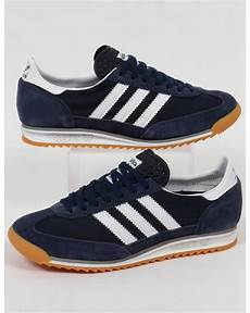 adidas sl 72 trainers navy white originals shoes sneakers