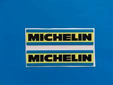 MICHELIN 70 S 80 STYLE RACING & RALLY CAR Sticker Decal X2