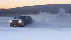 VW Golf R Hits The Ice  PakWheels Blog