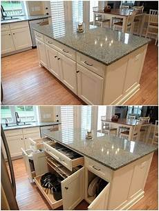 Kitchen Island Cabinet Layout by 22 Kitchen Island Ideas Home Ideas Kitchen Remodel