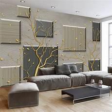 custom 3d wallpaper murals modern simple abstract tree